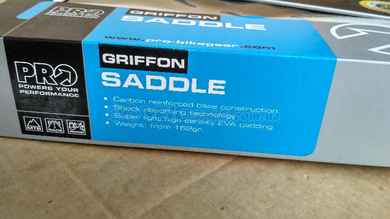 Седло Shimano Pro Griffon AF Carbon Rails (новое)  - Комсомольск - 1800 грн.
