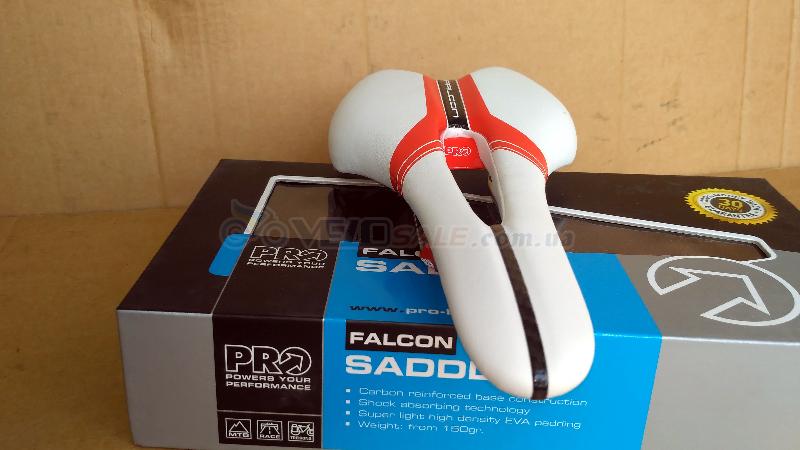 Седло PRO Falcon AF, Ti Rails (новое) - Комсомольск - 1200 грн.