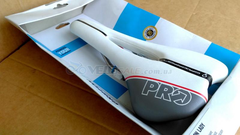 Седло PRO Griffon Lady Ti AF (Белое, Новое) - Комсомольск - 1200 грн.
