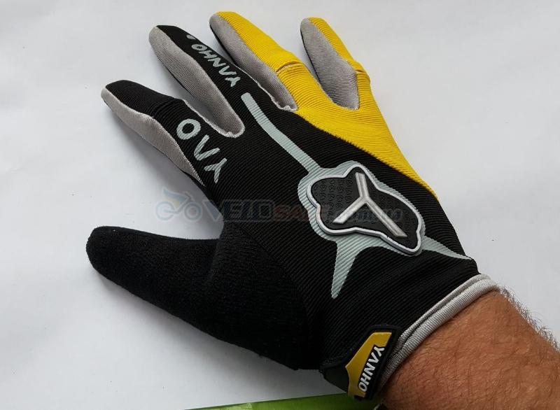 Перчатки вело, новые, размер наш - М, длинные паль - Киев - 230 грн.