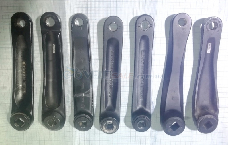 Шатун левый б.у Shimano Prowheel черные   - Чернігів - 150 грн.