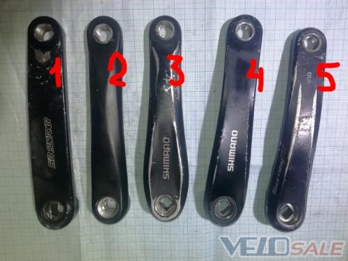 Шатун левый б.у Shimano Prowheel черные 170  https - Чернігів - 100 грн.