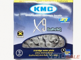 Цепь KMC X9 EcoProTech для 9 звезд c замком  Сайт  - Чернигов - 541 грн.