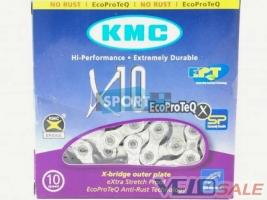 Цепь KMC X10 EcoProTech для 10 звезд c замком  Сай - Чернигов - 777 грн.
