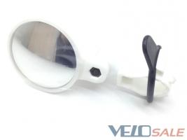 Зеркало Spelli SBM-4066 white, круглое, крепление  - Чернігів - 221 грн.