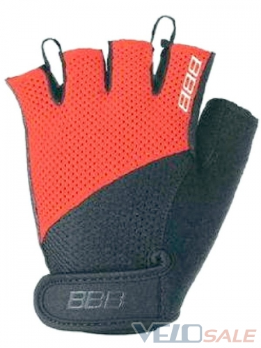 Велоперчатки BBB BBW-49 COOLDOWN Black_red размер  - Чернігів - 239 грн.