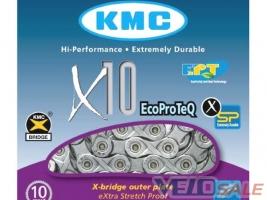Цепь KMC X10 EcoProTech для 10 speed c замком  Цеп - Чернигов - 741 грн.