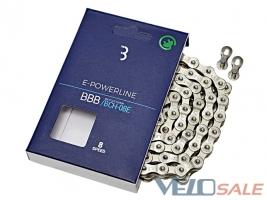 Цепь BBB BCH-8E E-Powerline 136 звеньев для электр - Чернигов - 499 грн.