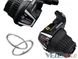 Манетки (ревошифты) Shimano SL-RS35 3х7 speed обе  - Чернигов - 337 грн.