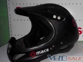 Продам Фулфейс MACE - Дніпропетровськ - шолом для велосипеда 350 грн.