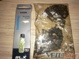 Продам Shimano SLX + KMC - цепи для велосипеда 180/140 грн или 300 за обе