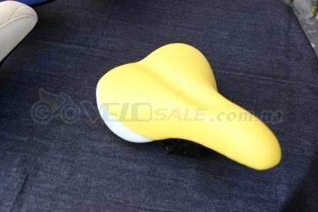 Продам sbtg-2.01 sport_white_yellow - Київ - Новий сідло для велосипеда 220 грн.