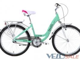 Продам Spelli 24″ City Nexus3 блідно-зелений - Херсон - Новий жіночий, міський, дорожній велосипед hardtail 3830 грн.