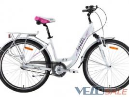 Продам Spelli 26″ City Nexus3 білий - Херсон - Новий жіночий, міський, дорожній велосипед hardtail 4484 грн.