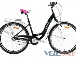 Продам Spelli 26″ City Nexus3 чорний - Херсон - Новий жіночий, міський, дорожній велосипед hardtail 4484 грн.