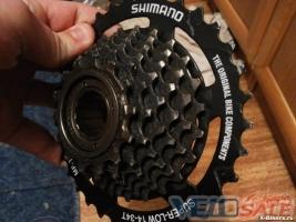 Продам терещетка Shimano mf tz31 ( 7 скоростей ) - Рівне - касета для велосипеда 80 грн.
