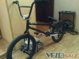 Продам BMX на раме S&M - Краматорськ - екстрім: bmx, дерт, даунхіл, тріал велосипед rigid 2300 грн.