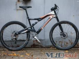 Продам Cannondale Rush 3 Carbon - Харків - гірський, mtb велосипед двопідвіс 1200 дол.