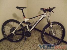 Продам canyon nerve al - Любешов - Новый горный, mtb велосипед двухподвес 1000 евро