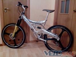 Продам MIRAGE AMT - Рівне - гірський, mtb велосипед двопідвіс 4700 грн.
