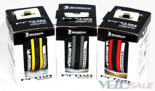 Продам Michelin Pro4 Endurance 700x23C (Фолдінгові) - Коломыя - Новый покрышки для велосипеда 740 грн.
