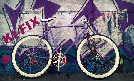 KI-FIX -покраска велосипедов и мопедов.