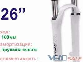 Вилки / Амортизация / Подвесы SUNTOUR KS EXA SIlver Simple