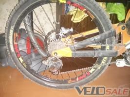 Продам МТХ + Демон 150х12 (зад) Новатек 20 (перед) - Запоріжжя - колесо для велосипеда 1500 грн.