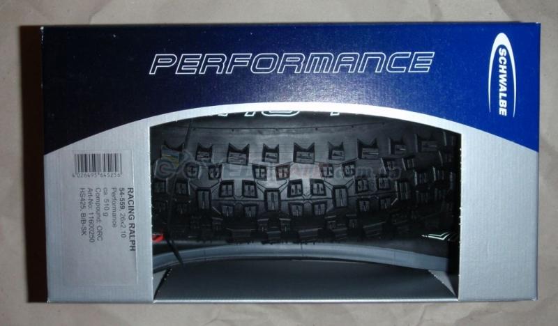 Покрышки, новые     Schwalbe Racing Ralph 26*2,1, Performance, ORC,