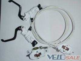 Продам тормоза Formula RX, перед-зад, новые белые - Київ - Новий гальма для велосипеда 210 дол.