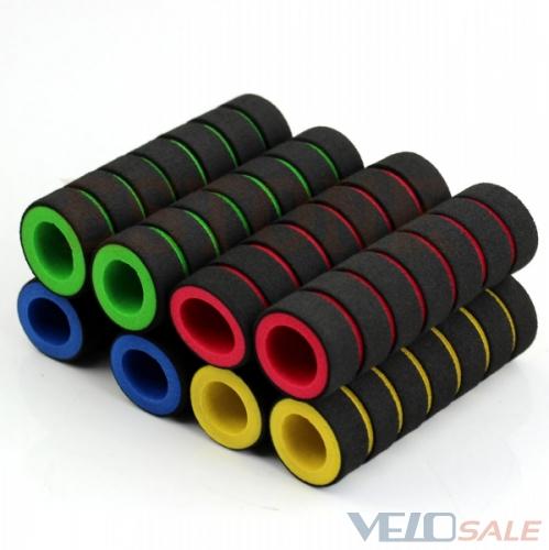Продам Грипсы (ручки) мягкие, для велоруля, новые - Киев - Новый грипсы, ручки руля для велосипеда 50 грн.