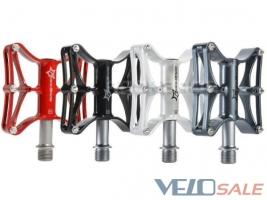 Продам Стильные, магниевые педали RockBros, сменные шипы - Киев - Новый педали для велосипеда 700 грн.