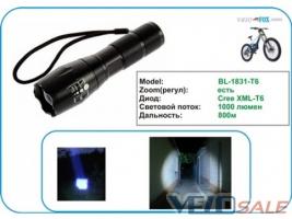 Продам Передний Фонарь / Фара велосипедная CREE BL-1831-T - Львів - Новий освітлення для велосипеда 330 грн.