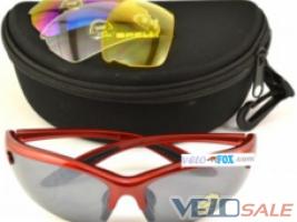 Продам Очки велосипедные / спортивные SPELLI Red + (сменн - Львів - Новий окуляри для велосипеда 385 грн.