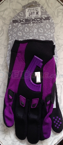 новые вело перчатки Sixsixone comp glove