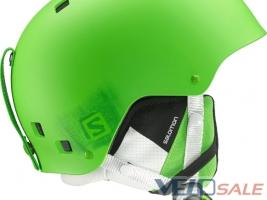 Горнолыжный шлем Salomon BRIGADE Green and Red Matt