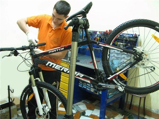 Ремонт и ТО вашего велосипеда.