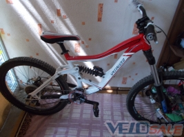 Продам Specialized Big Hit 09 - Алушта - экстрим: bmx, дерт, даунхилл, триал велосипед двухподвес 1300 дол.
