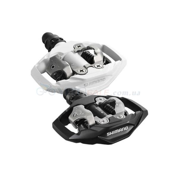 Новые  контактные педали Shimano PD-M530 с шипами.