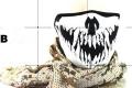 Маски защитные, Skull, Skull, Череп хищника, новые