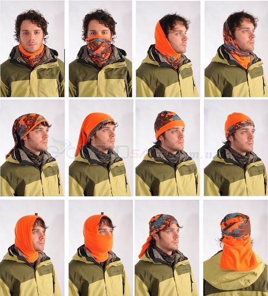 новые теплые баффы, снуды, балаклавы, шарфы-трансформеры.