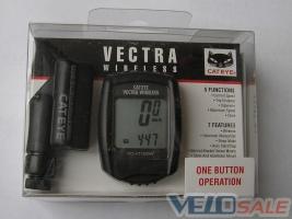 Велокомпьютер CATEYE - VECTRA WIRELESS (CC-VT100W)  беспроводный