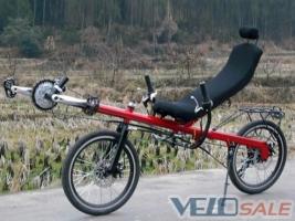 Продам Лежачий велосипед Ligfiets Bicicletas Reclinadas L - Киев - Новый - прочее - велосипед двухподвес 27999 грн.