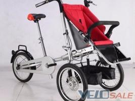 Продам Велосипед- детская коляска 3 в 1  - Киев - Новый - прочее - велосипед двухподвес 10999 грн.