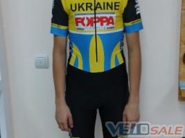 Продам Продам  велокомбінезон UKRAINE FOPPA НОВИЙ - Ивано-Франковск - Новый комбинезон для велосипеда 60 дол.
