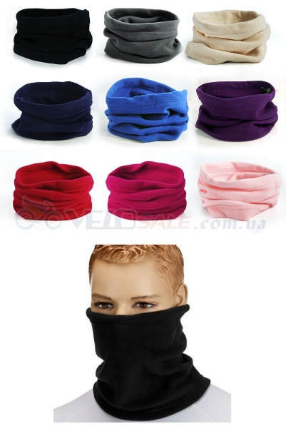 BUFF, шарф флисовый, шарф труба, снуд, шарф рукав, шапка.
