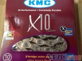 KMC - X10 с замком 116 звеньев -