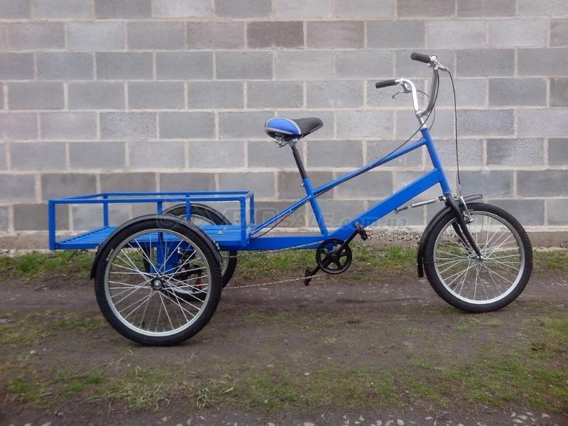 Велосипед взрослый на 3 колесах своими руками 33