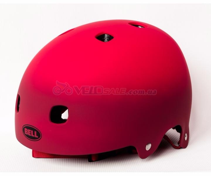 Bell Segment велосипедный шлем каска красный матовый размер M