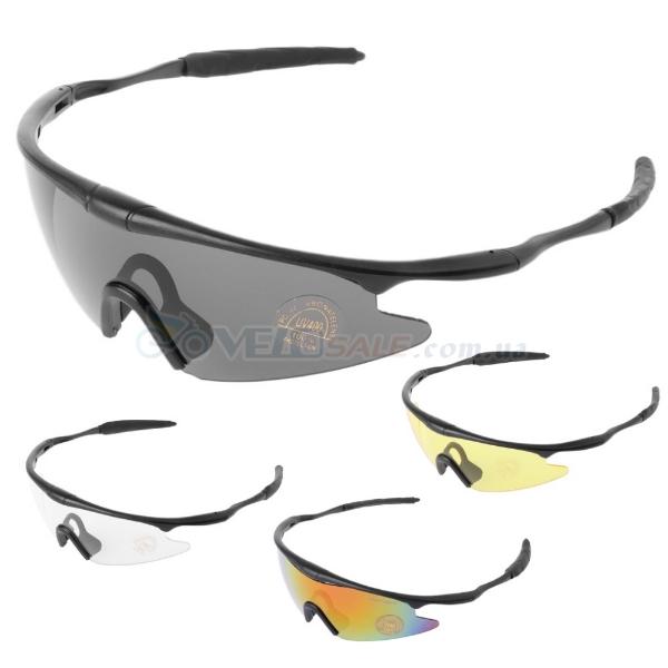 Очки спортивные, защитные, велоочки - Киев - 120 грн.